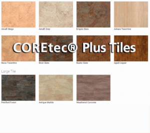 COREtec® Plus Tiles flooring